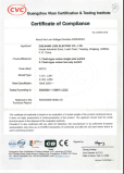CE Quality Certificate