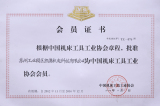 Member of China association of machine tools