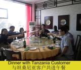 customer visiting