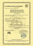 FCC Certificate of Car LED Headlight