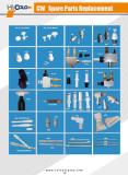 WPowder Coating Gun Spare Part Catalogue