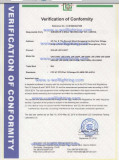 CE FCC Cerification for UFO LED Highaby light