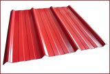 PPGI--Prepainted Galvanized Corrugated T Type Steel Roofing Sheet