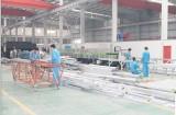 Production of light steel villa