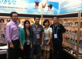 with our Korea Friend in Canton Fair