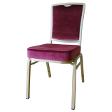Modern Padded Hotel Banquet Dining Room Chairs