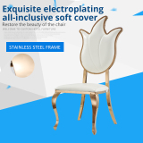 Hot Sale Stainlesss Steel Dining Chairs for Events