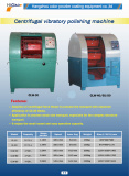 Centrifugal vibratory polishing machinery