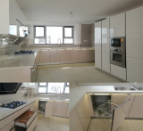 Modern Australia Project Built-in Lacquer Kitchen Cabinets(OP14-L04)