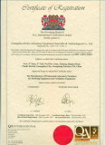 Certificate of ISO 14001:2004