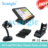 All in One 15 ′′ Touch Screen POS System with Factory Price
