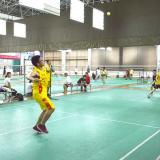 Employee activities-badminton game