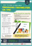 What you need to know about emissions testing for UK TPD