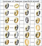 Tungsten rings(golden)