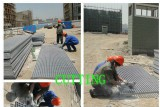 FRP Molded Grating Cutting Treament