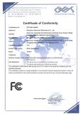 headphone FCC certificate