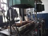 Electron tube exhaust machine