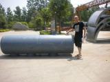 Lebbanon customer visiting us for loading 10ton pyrolysis plant
