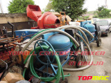 Topall diesel concrete mixers in Abuja