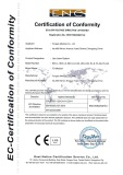 CE certification of LIPOLASER beauty equipment