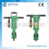 Pneumatic rock drilling machine