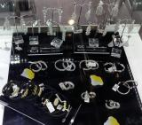 new design 3A White CZ Earring