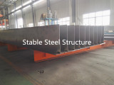H section steel for steel building in manufacturing