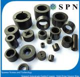 Ceramic Ferrite anisotropic multipole magnet rings
