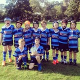 the kids rugby team