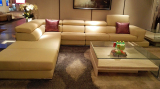 Sofa And Coffee Table Snaped In Singapore Client′s Shop