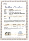 EMC-CE Certificate of LED MOVING HEAD LIGHT