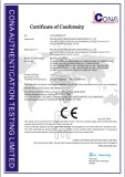 CE-Certificates of PE Blowing Machine