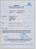 CE Certificate 1, from TUV