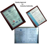 Qualtiy Approval by Industry Authority
