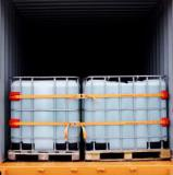 Cornerlash securing ibcs in a container