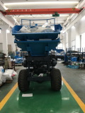 Palm oil plantation tractor