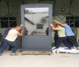 75inch outdoor touch lcd kiosk