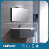 Wall Mounted Modern European Design Bathroom Cabinet with Mirror Cabinet
