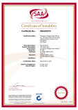 SAA Certificate ND 161075 (Panel Light)