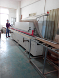 Wooden edge bending machine