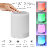Portable Wireless Bluetooth LED Night Light