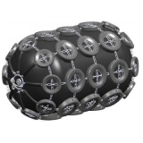 Penumatic Rubber Fender with Chain and Tires Net