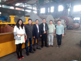 indonesia customer Mr dian come to discuss cooper benefication plant