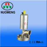 Sanitary Stainless Steel Pneumatic Clamped Tank Bottom Valve