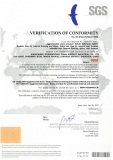 Solid Surface Sheet CE certificate