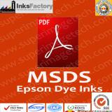 Epson Dye Ink MSDS
