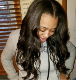 Full cuticle intact body wave 18inch (client share)