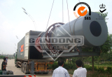Rotary scrubber shipped to Ghana