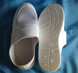 White ESD Antistatic PVC Spu PU Mesh Shoes