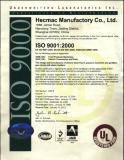 UL Certificates on 2012